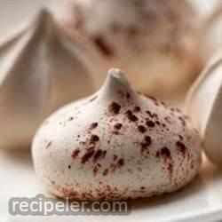 mocha meringues