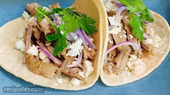 Mojo Pork Tacos