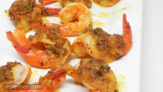 Monica's Japanese Garlic Dollop Shrimp