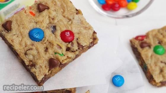 Monster Cookie Bars
