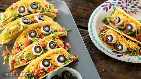 Monster-Eye Tacos