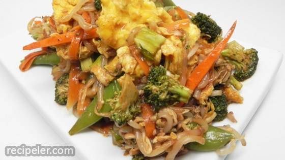 Moo Shu Vegetable Stir Fry