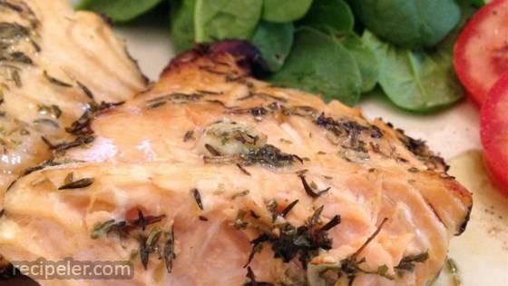 Morgan's Grilled Fish