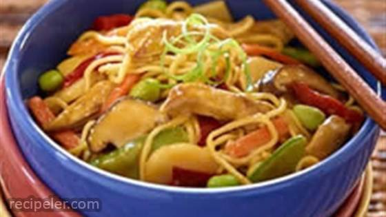 mperial Vegetables and Noodles