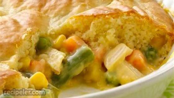 mpossibly Easy Chicken Pot Pie