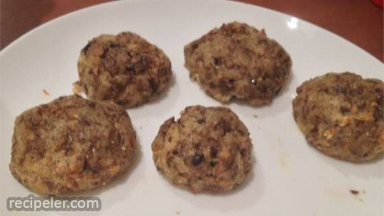 Mushroom Stuffing Balls