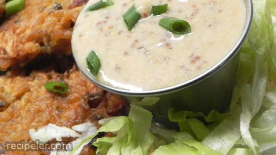 Mustard-Cream Pan Sauce