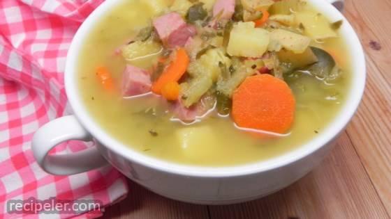 Najlepsza Zupa Ogorkowa (Polish Pickled Cucumber Soup)
