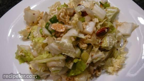 Napa Cabbage Noodle Salad