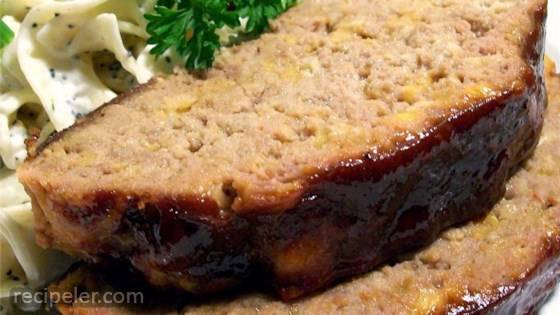 ncredibly Cheesy Turkey Meatloaf