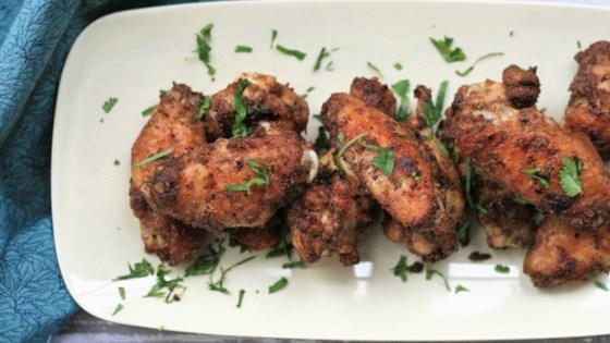 ndian masala chicken wings