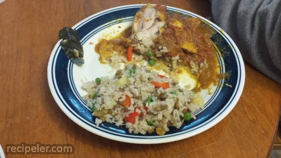 ndian Spiced Rice