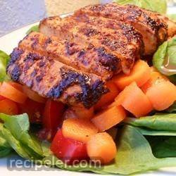 ndian-Style Grilled Chicken Salad