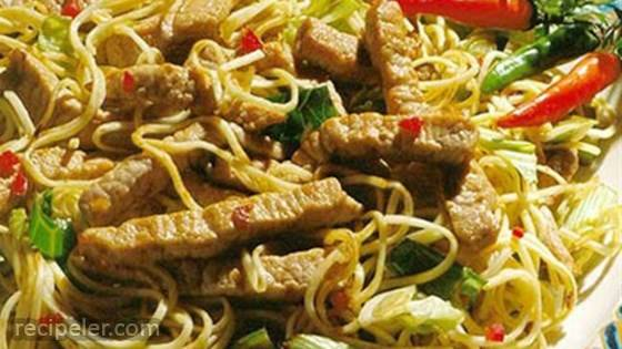 ndonesian Pork Noodle Bowl