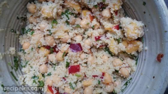 Nectarine Couscous Salad