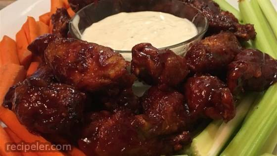 New Year's Eve Chicken Wings