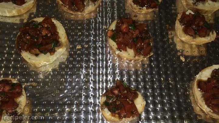 Nikol's Garlic Bruschetta