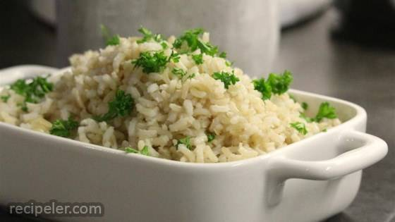 No-Fuss Perfect Baked Brown Rice
