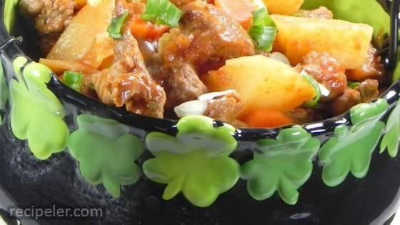 No Peek rish Beef Stew