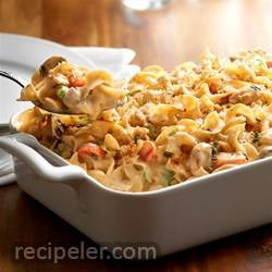 no yolks® creamy chicken noodle casserole