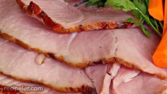 Not So Sweet Baked Ham