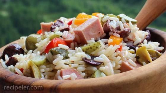 nsalata di Riso (talian Rice Salad)