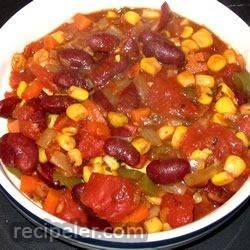 nsanely Easy Vegetarian Chili