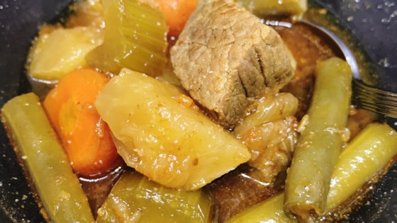 Nstant Pot® Beef And Vegetable Soup