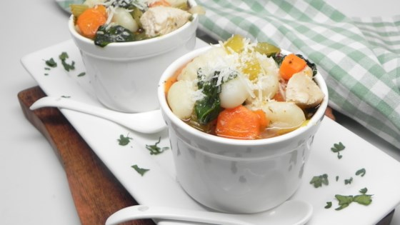 nstant pot® dairy-free chicken and gnocchi soup