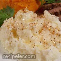 Nutmeg Mashed Potatoes