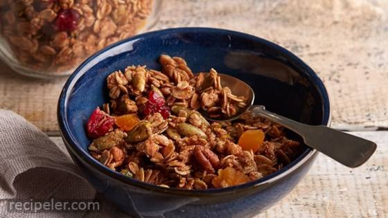 Nutty Baked Granola