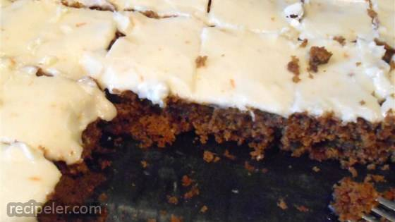 Nutty Pumpkin Bars