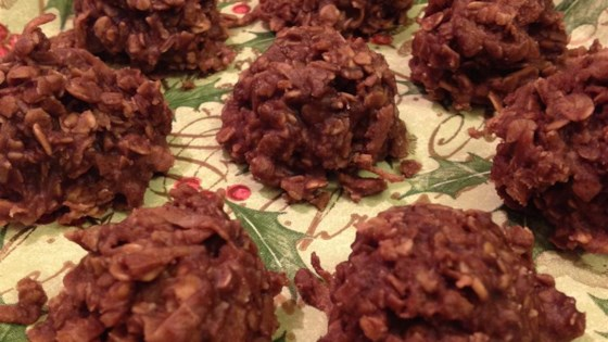 oatmeal chocolate coconut macaroons