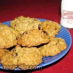 Oatmeal Dried Fruit Cookies