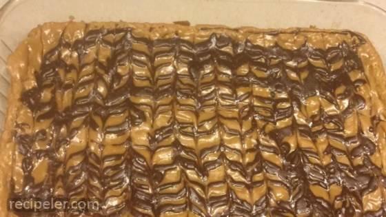 Oatmeal Peanut Butter Chocolate Bars