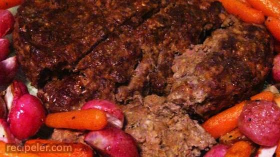 Old Fashioned Ozarks Meatloaf