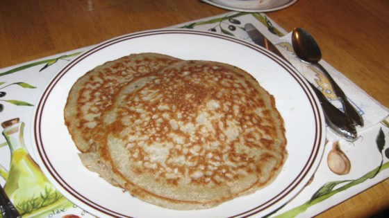old-fashioned sour buckwheat pancakes