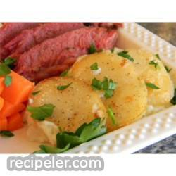 Old rish Scalloped Potatoes