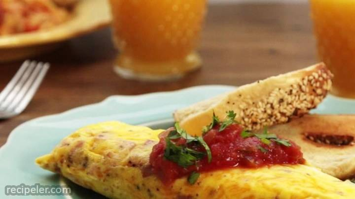 omelet in a bag