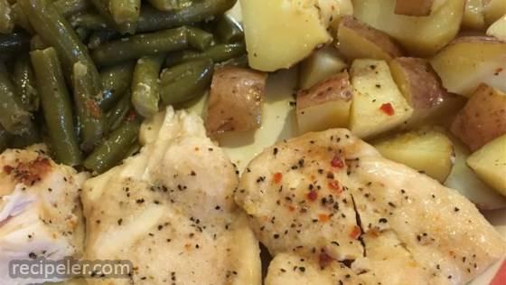 One-pan Chicken Dinner