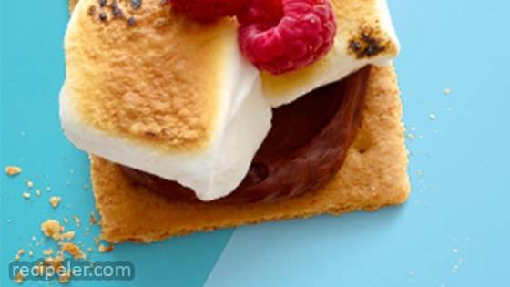 Open-Face S'mores