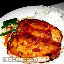 Orange-Glazed, Pork Tenderloin with talian Seasoning