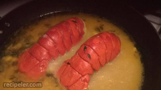 Orange Lobster Tail