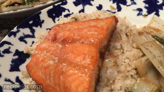 Orange Soy-Glazed Salmon