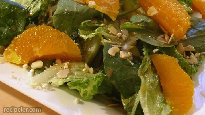 orange vinaigrette
