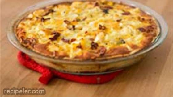 ORE-DA Sweet and Savory Bacon Quiche