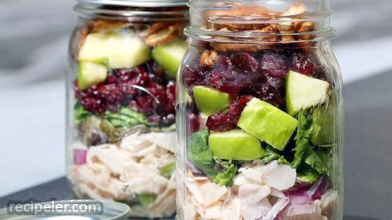 Originals Oven Roasted Chicken Salad Mason Jar