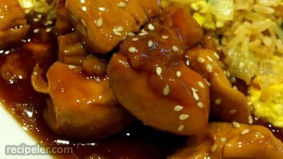 Oven Baked Chicken Teriyaki