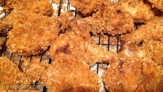 oven fried chicken v