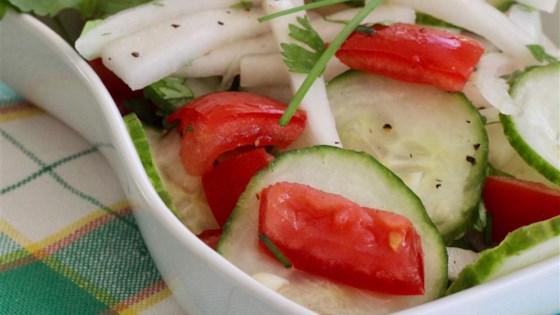 Pacific Rim Cucumber Salad